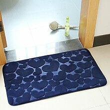 DOTBUY Fußmatte, Teppich Wohnzimmer Korallen Samt