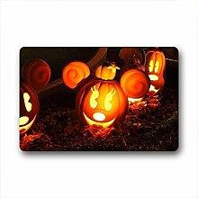 DOUBEE Design Halloween Fussmatte Schmutzmatte Fußabstreifer im Freien Innen 46cm X 76cm