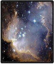 DOUBEE Fleece Decke Galaxy Sternenhimmel Pattern Blanket Kuscheldecke Wolldecke 127cm X 152cm