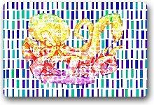 DOUBEE Generisches Design Krake Octopus Fussmatte Premium Schmutzmatte Haus Fußabstreifer 46cm X 76 cm