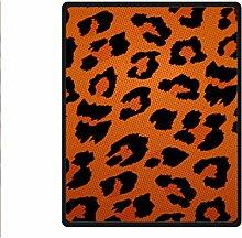 Doubee Leopard drucken Premium Fleece Blanket Baby