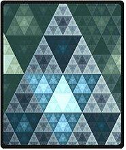 "Doubee Saguaro Fleece Blanket Decke Kuscheldecke Wolldecke 50"" x 60"",127cm X 152cm"