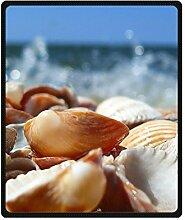 "DOUBEE Seashells Strand Fleece Blanket Decke Kuscheldecke Wolldecke 50"" x 60"",127cm X 152cm"