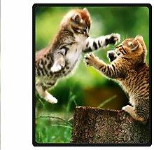 """Doubee Tiere Katze Cat Fleece Blanket Decke Kuscheldecke Wolldecke 50"""" x 60"""",127cm X 152cm"""