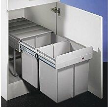 Double 2 Abfallsammler/Trennsystem/Mülleimer