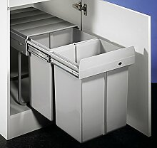 Double 4 Abfallsammler / Trennsystem / Mülleimer