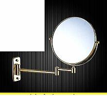 Double Push-Pull Verstärker Friseur Spiegel/rotierenden Spiegel/klappbare Spiegel/Toilette Teleskop Spiegel/Bad Wandspiegel-L