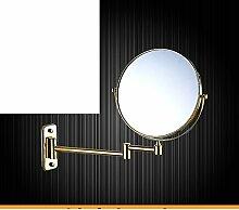 Double Push-Pull Verstärker Friseur Spiegel/rotierenden Spiegel/klappbare Spiegel/Toilette Teleskop Spiegel/Bad Wandspiegel-E