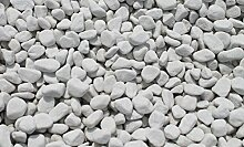 Doubleyou Geovlies & Baustoffe 20 kg Carrara Kies