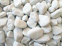 Doubleyou Geovlies & Baustoffe 5 kg Carrara Kies -
