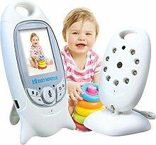 Dough.Q Babyphone 2 Zoll 2.4GHz Babyphone mit