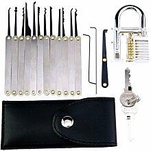 DOXUNGO 15-teiliges Entriegelungsschloss Pick-Set