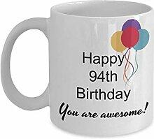 Dozili Lustige Kaffeetasse - Geschenk zum 94.
