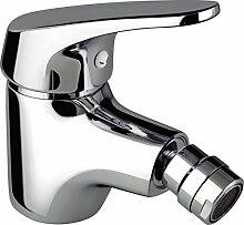DP bath - Bidetarmatur Serie Limonero, 1 Stück, silber, GSP002