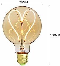DPHK Glühbirne 6 Lichter Industrie Kronleuchter
