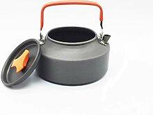 DPZCBH Camping Wasserkocher Außen Kessel 1.6L