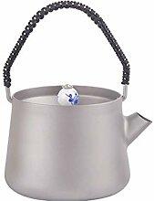 DPZCBH Camping Wasserkocher Titan Tea Set 240ml