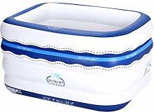 DQMSB Aufblasbare Babybadewanne für