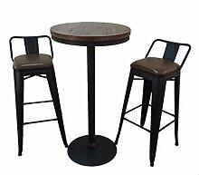 DQMSB Starbucks Barhocker Massivholz Bar Tisch und