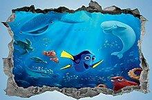 DQPCC Wandtattoos Kids Cartoon Sticker Bedroom 3D