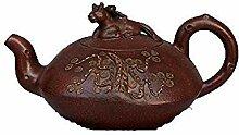 DQQQ Altes Porzellan-Teeset Yixing Berühmtes