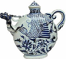 DQQQ Jingdezhen Keramik Handbemalte Blaue Muster