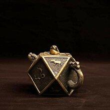 DQQQ Kupfertopf Pure Copper Ornaments 12 Zodiac