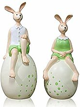 DQQQ Nordic Modern Cute Rabbit Ornaments