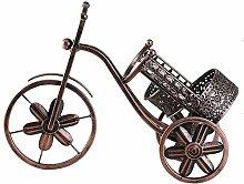 DQQQ WeinregalMetall Dreirad Retro Fahrrad