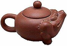 DQQQ Yixing Berühmte Lila Sand Teekanne