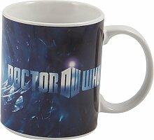Dr Who 2D-Becher, 330 ml, bun