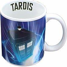 Dr Who Tardis Becher