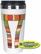 Dr. Who Thermo Becher 4. Doktor - mit Schal