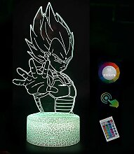 Dra·gon B·All Veg·ETA 3D Nachtlicht Led