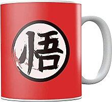 Dra-gon Ba-ll Go Ka-nji Ceramic Coffee Mug Tea Cup