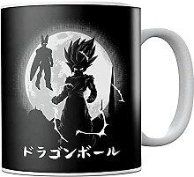 Dra-gon Ba-ll Z Go-ku Moon Ceramic Coffee Mug Tea