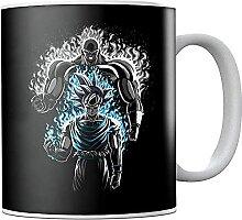 Dra-gon Ba-ll Z Go-ku Vs Ji-ren Ceramic Coffee Mug