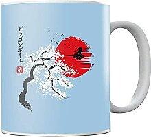 Dra-gon Ba-ll Z Japan Go-ku On Cloud Ceramic