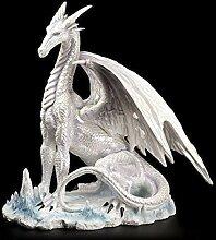 Drachen Figur - Der große Weiße - Drachenfigur