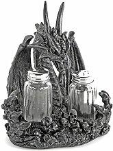 Drachen Salz- und Pfeffer Streuer Set Glas-Streuer