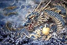 Dragon 5D Diamond Vollständige Stickerei Malerei