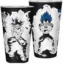 Dragon Ball AbyStyle Glas-Becher groß – Goku