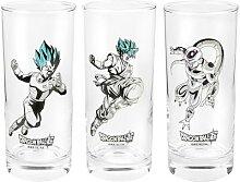 Dragon Ball Super - Glas Set Glas-Set - multicolor