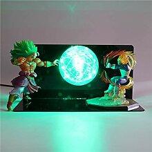 Dragon Ball Super Saiyan Action-figuren Lampe