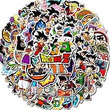 Dragon Ball Z-Aufkleber, 100 Stück,