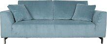 Dragon Rib - Sofa - Blau