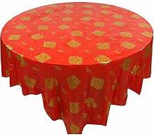 DRAGON SONIC 10er Set Runde Tisch Chinesische Stil