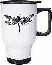 Dragonfly' Ceramic Mug/Travel Coffee Mug