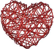 Drahtherzen - rot - Eurosand Herzen aus Draht