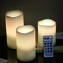 Drahtlose Fernbedienung Kerze LED Flammenlose